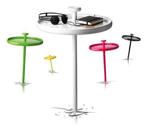 Letnie stoliki - design, stolik