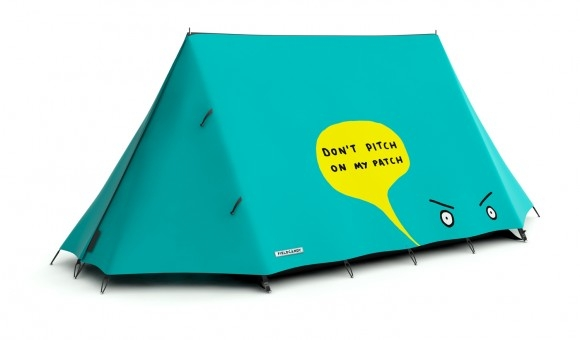 Bądź oryginalny na biwaku... - design, namiot