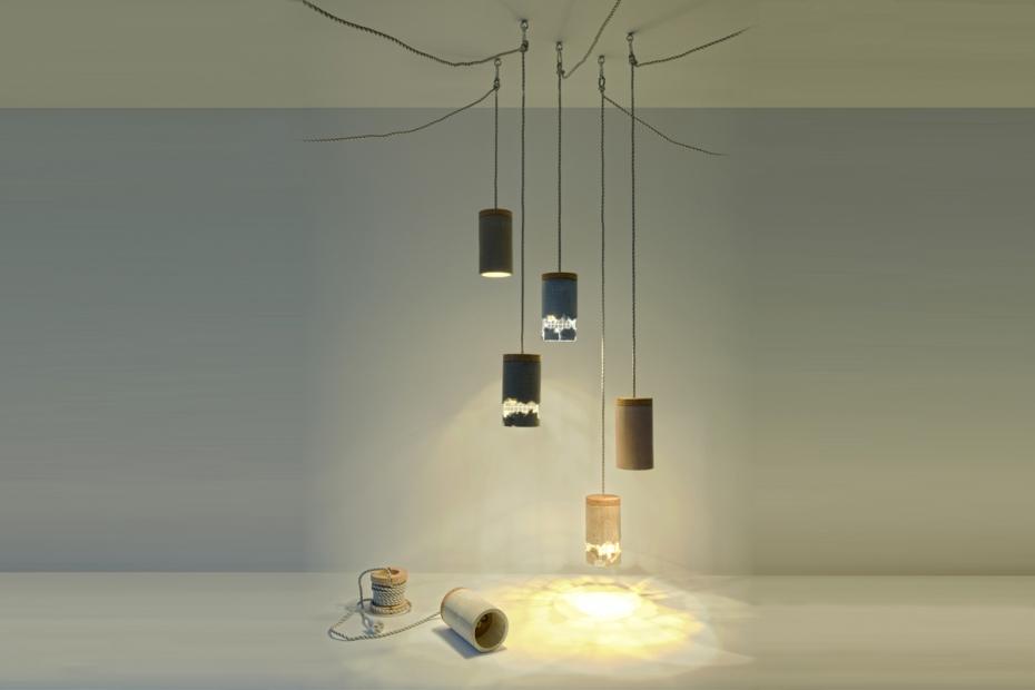 Betonowa lampa od Ubikubi - zrób to sam - 10