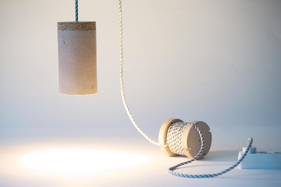 Betonowa lampa od Ubikubi - zrób to sam - 9