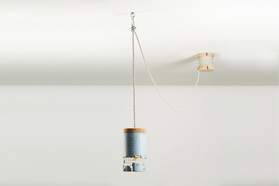 Betonowa lampa od Ubikubi - zrób to sam - 6