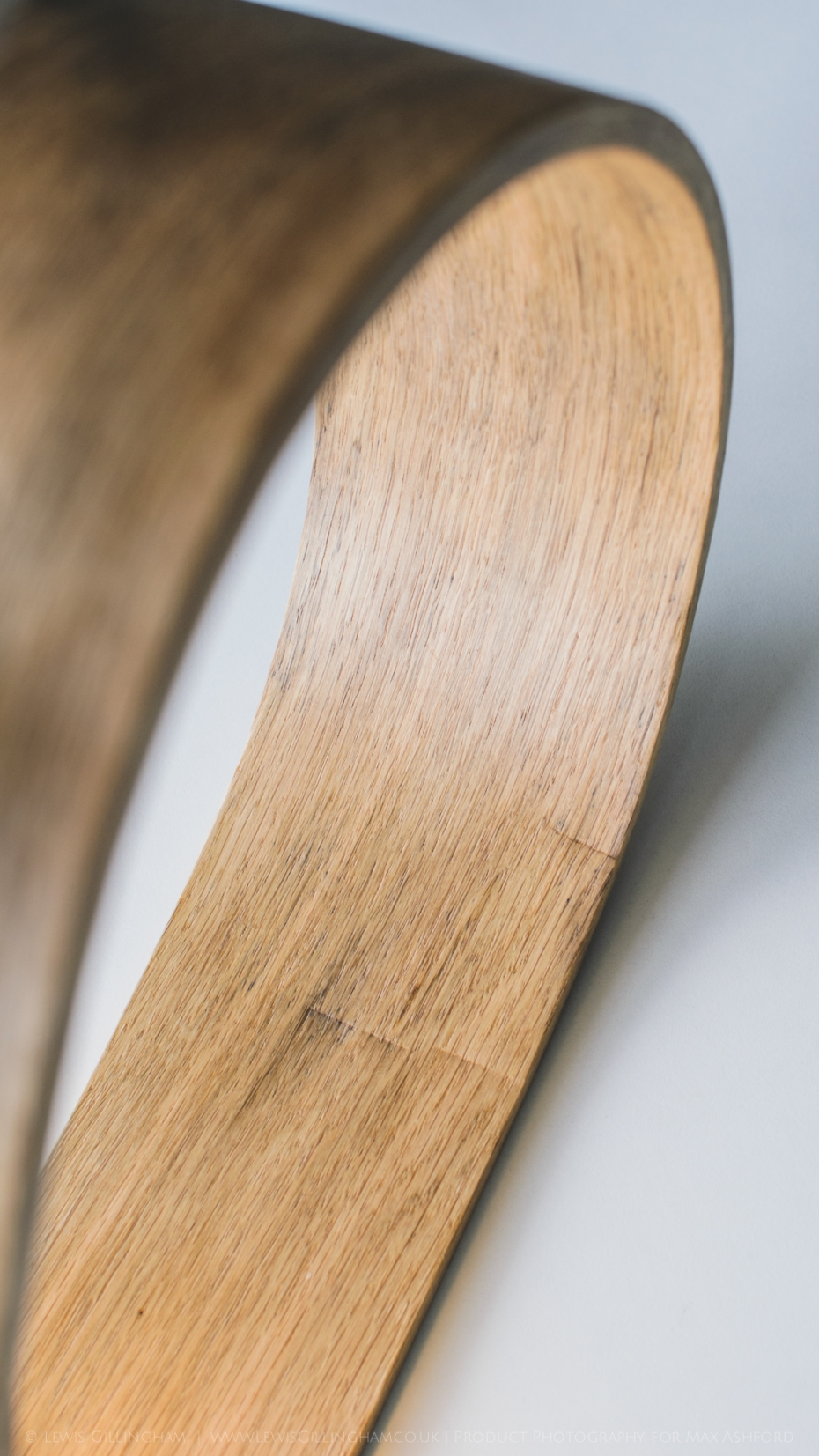 Lampka Quercus - butelka od wina i drewno - 7