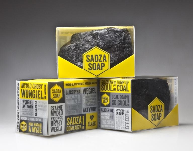 Sadza Soap, bryła węgla czy czarne mydło - 2
