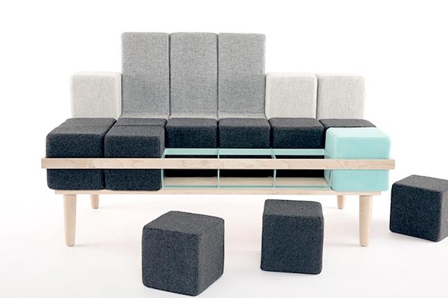 Sofa Bloc'd - Tetris w rzeczywistości - 1