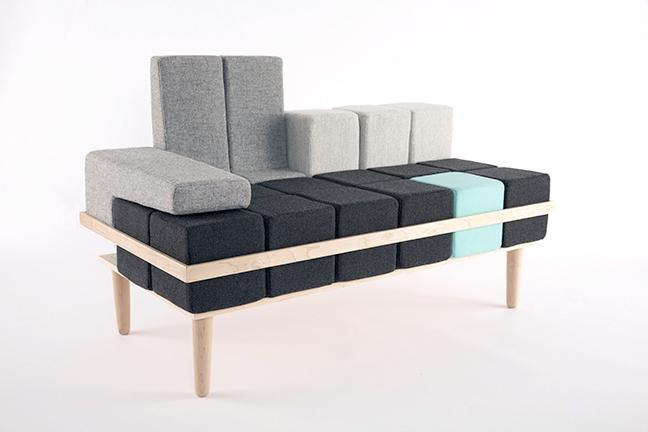 Sofa Bloc'd - Tetris w rzeczywistości - 3