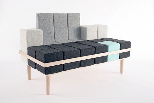 Sofa Bloc'd - Tetris w rzeczywistości - 2