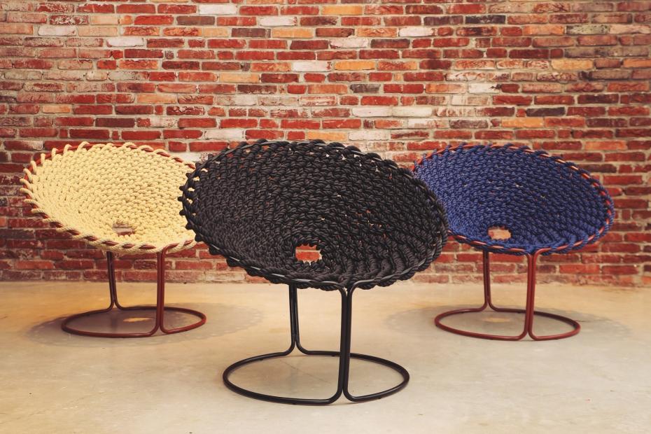 Femme Chair, krzesło inspirowane węzłami - 12