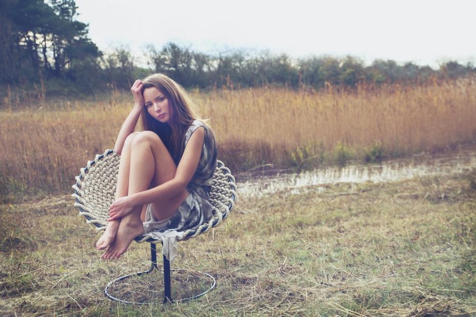 Femme Chair, krzesło inspirowane węzłami - 2