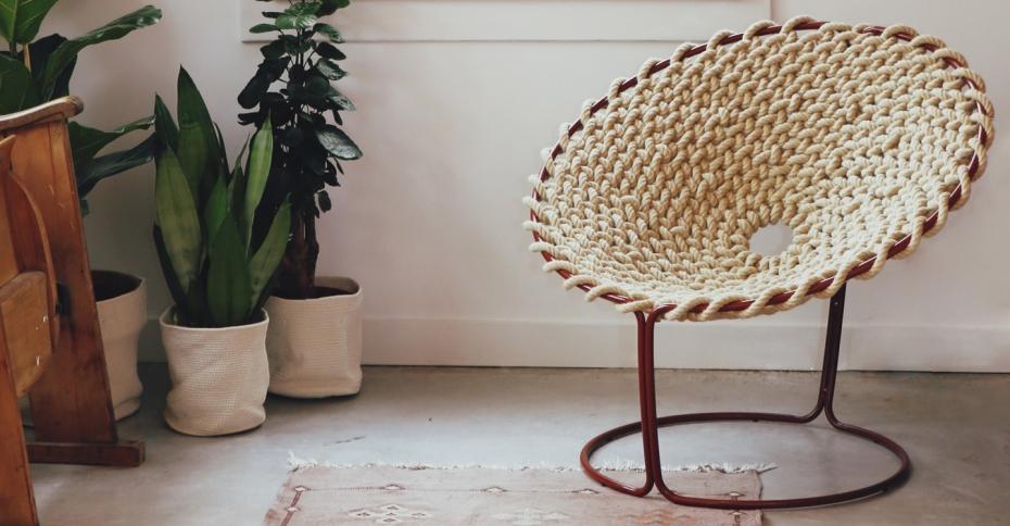 Femme Chair, krzesło inspirowane węzłami - 14