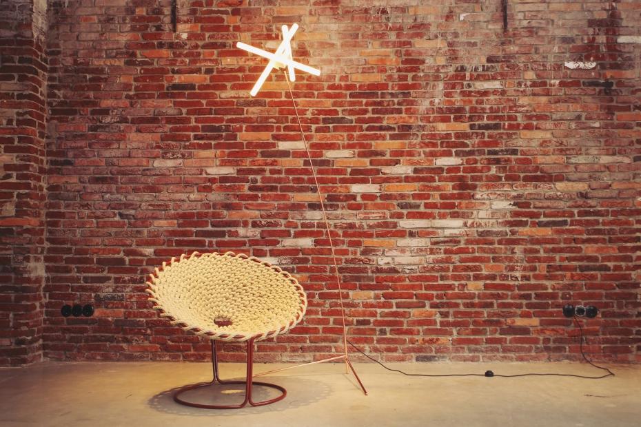 Femme Chair, krzesło inspirowane węzłami - 8