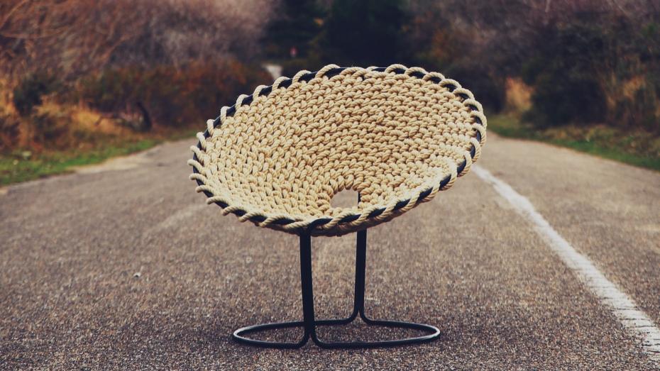 Femme Chair, krzesło inspirowane węzłami - 13