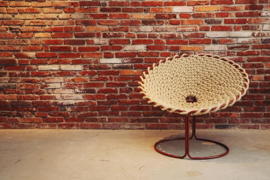 Femme Chair, krzesło inspirowane węzłami - 10