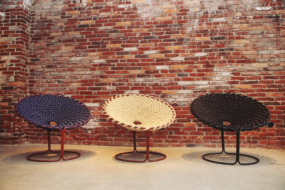 Femme Chair, krzesło inspirowane węzłami - 4