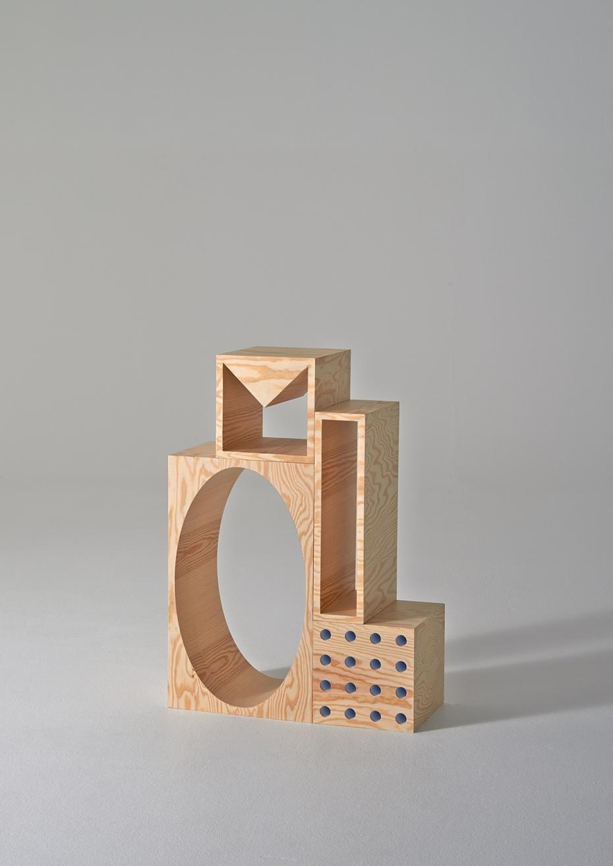 ROOM Collection - regał z drewnianych klocków - 11